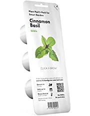 Click and Grow Smart Garden Cinnamon Basil Plant Pods, 3-Pack