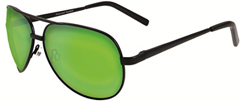 Chili's Ballast Aviator Sunglasses,Black,63 - Sunglasses Chili