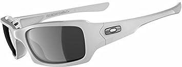 Oakley - Fives squared - Polished white Black iridium polarized - Lunettes  de Soleil 22fa7d869c40