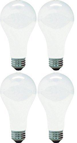 GE Lighting 10429 150-Watt A21 Light, Soft White (Pack of ()