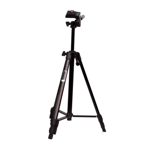"""48"""" Height Aluminum Tripod for Canon Sony Nikon Digital Camera Camcorder with Carry Bag Black"""