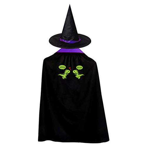 I Love You This Much Kids' Witch Cape With Hat Classic Vampire Cloak For Halloween Cosplay Costume]()