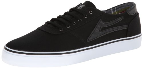Lakai Manchester Lean Herren Skateboardschuhe Noir (Black Canvas)