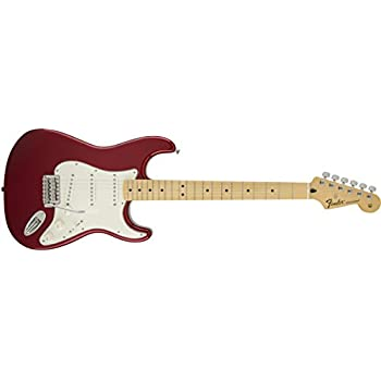 Fender Standard Stratocaster Electric Guitar - Maple Fingerboard, Candy Apple Red