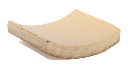 PacknWood Square Smooth Bamboo Dish, 2'' x 2'' (Case of 2000) by PacknWood