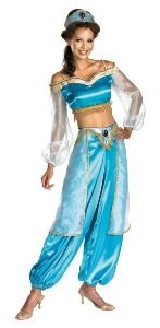 Teen Jasmine Costumes (Jasmine Sassy Prestige Teen/Junior Costume - Teen)