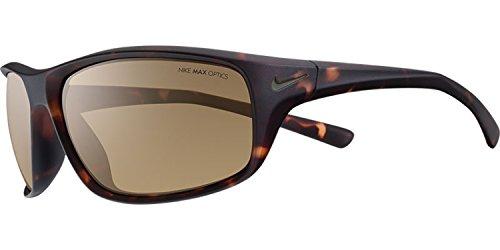 Nike ADRENALINE Sunglasses EV0605 225, Matte Tortoise/ Brown Lens