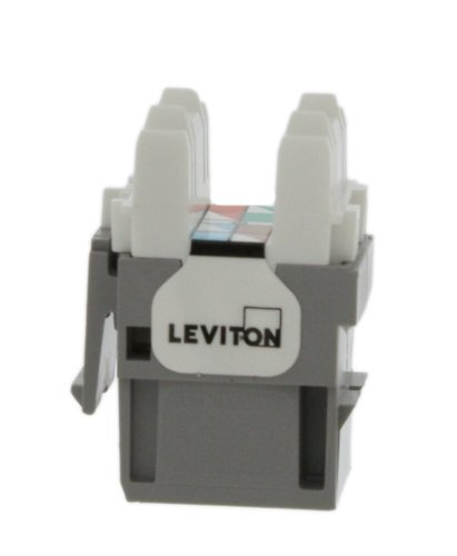 Leviton Extreme QuickPort Connector 4 Connector body is high-impact, fire-retardant plastic rated UL 94V-4 TIA/EIA channel performance limits total length of patching and equipment cords to 32 feet (10 meters) per TIA/EIA-568-B 14 colors for color-coding or organization; available in six standard lengths