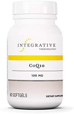 Integrative Therapeutics - CoQ10 - 100 mg Coenzyme Q10 (Ubiquinone) Supplement - Supports Cardiovascular, Neurological, & Immune System Health - 60 Softgels