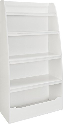 Ameriwood Home Hazel Kids' 4 Shelf Bookcase, White by Ameriwood Home (Image #4)