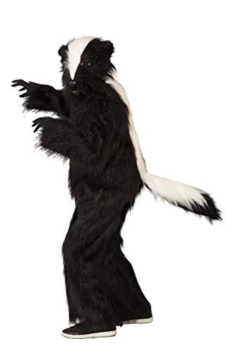 Forum Men's Deluxe Skunk Costume, black, STD ()