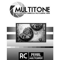 - Inkpress MultiTone Black & White Resin Coated BW Pearl Luster Darkroom Photographic Paper, 8x10