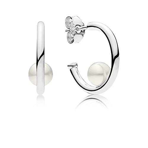 PANDORA Contemporary Pearls, Freshwater cultured - Earrings Tone Two Strand