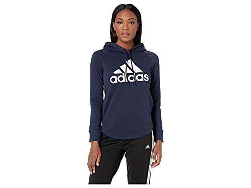 adidas Women's Must Have Hoodie Legend Ink/White X-Small