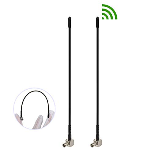 Bingfu 4G LTE 3dBi Soft Whip External TS9 Antenna (2-Pack) Compatible with  Verizon AT&T T-Mobile Sprint Netgear Huawei MiFi Mobile Hotspot Router USB