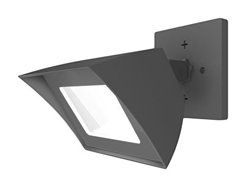 - WAC Lighting WP-LED335-50-AGH 5000K Cool White Endurance Flood Energy Star LED Flood Light, Architectural Graphite
