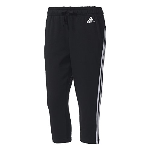 3 A Adidas Pantaloni Black white Strisce white Da Donna Essentials black 4 Nero 3 5rrEwSq