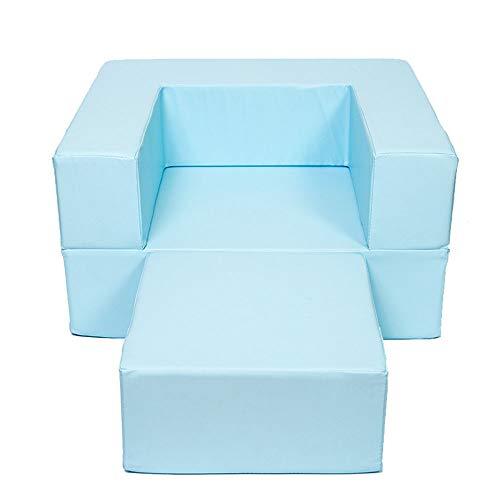 Amazon.com: Sofá sillón infantil de madera multifunción de ...