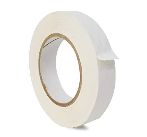 WOD CFB-60 Console Artist Tape White - Flatback Paper Marking/Labeling Tape Residue Free - Acid Free (Available in Multiple Sizes & Colors): 1 in. X 60 yds (Pack of 1) ()