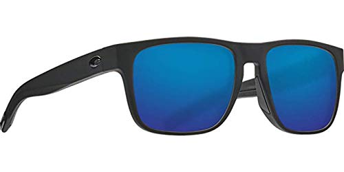 Costa Del Mar Spearo Sunglasses Blackout/Blue Mirror 580Glass by Costa Del Mar