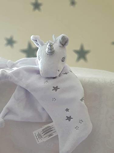 Personalised Unicorn Baby Comforters / Baby Blanket / Knotet Blanket / Christmas Gift / Soft Baby Toys