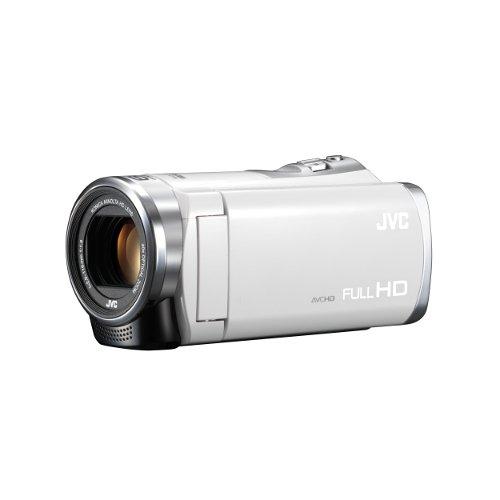 JVCKENWOOD JVC ビデオカメラ EVERIO 内蔵メモリー8GB ホワイト GZ-E333-W