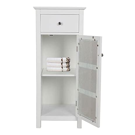 Delightful Elegant Home Fashions Connor One Door And One Drawer Floor Cabinet
