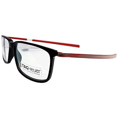 cd757fdc2ef TAG Heuer 3451 Reflex Rectangle Prescription Rx Ready Eyeglasses Frames