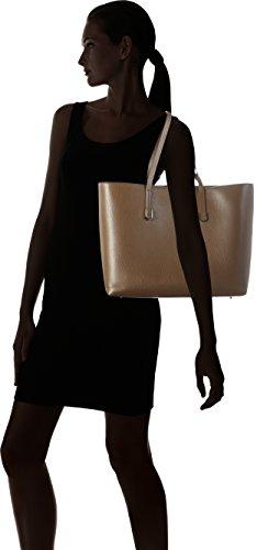Hugo Nadalia-r 10195833 01, Bolso para Mujer, Talla Única Beige (Dark Beige)