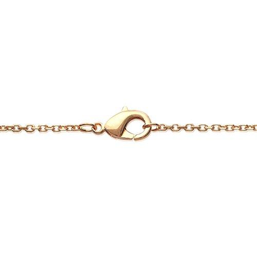 Collier Sautoir en Plaqué Or - Chaîne avec Pendentifs Fixes : Ronds, Cercles, Disques - Bijoux Femme