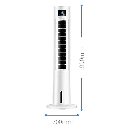Gelaiken Desktop Fan Home Fan Mobile Air Conditioners Air Cooler Air Conditioner Fan Evaporative Humidifier Air Purifier Air Freshener Mute Household Tower Leafless Table Desk Fan for Home and Travel by Gelaiken (Image #1)