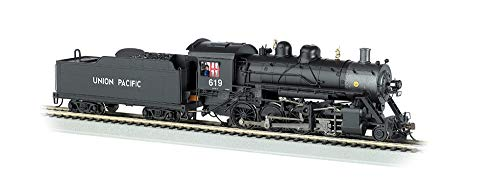 Locomotives Steam 4 4 8 - Bachmann Trains Baldwin 2-8-0 Dcc Equipped Steam Locomotive Union Pacific #619 - HO Scale, Prototypical Black