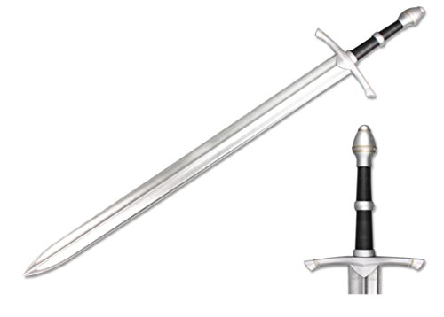 Medieval Sword Metallic Chrome Finish product image
