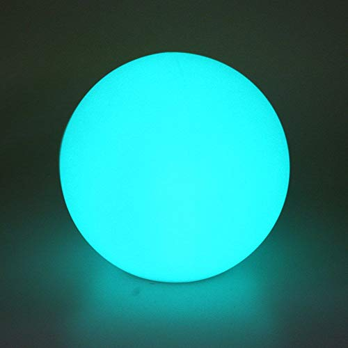 Led Pool Balls (Airsee LED Ball Light, 8-inch 16 Colors Mood Lamp with Remote Control, IP65 Waterproof Floating Pool Lights, Upgraded Battery Capacity & 5V USB Charge Cable, Perfect for Home)