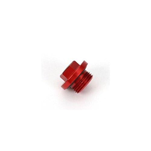 Works Connection Oil Filler Plug - Red 24-001