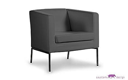 Outstanding Rom Grey Armchair Cover For Ikea Klappsta Armchair Amazon Inzonedesignstudio Interior Chair Design Inzonedesignstudiocom