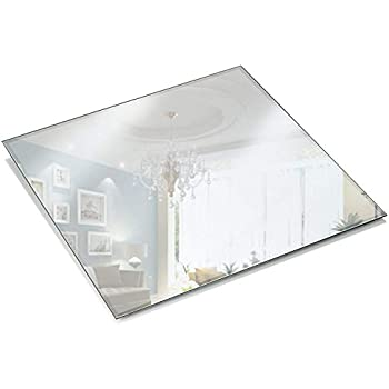 Amazoncom Eastland Square Beveled Centerpiece Table Mirror Set - 5x5 mirror tiles
