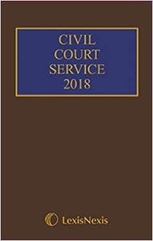 Civil Court Service 2018