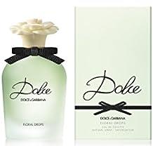 DOLCE GABBANA Floral Drops Eau de Toilette Spray for Women, 2.5 Fluid Ounce