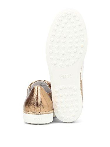 Tod's De Skate Blanc Femme Chaussures Cuir XXW0TV0J980GMU0ZD3 qZrxwSqTC