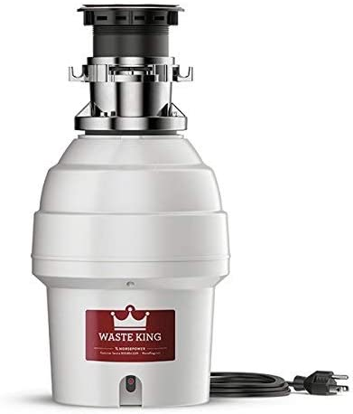Waste King L 5000tc Batch Feed Garbage Disposal With Power Cord 3 4 Hp Food Waste Disposers Amazon Com