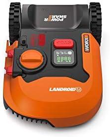 Worx WR141E Robot Cortacésped Landroid M 500 Wifi, Multicolor ...