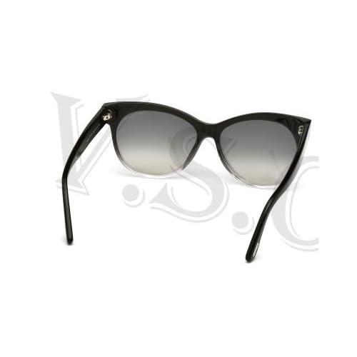 408c989a15fbf durable service Tom Ford Saskia Tf330 Sunglasses Ft 330 Authentic Cat Eye Glasses  05b Smoke Grad