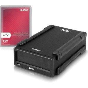 IMATION 29601 - RDX Starter Pack 500GB Cartridge External USB 3.0 Dock - External Usb Rdx Dock