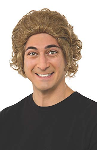 Adult Willy Wonka Costume (Rubie's Costume Men's Chocolate Factory Willy Wonka Wig, As Shown, One)