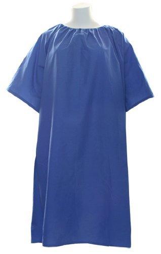 Plus Size Hospital Patient Gown 5x (Royal) (Tie Patient Gown)