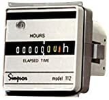 SIMPSON 03622 (112ET) ELECTROMECHANICAL HOUR METER