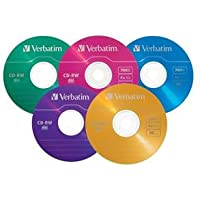 VERBATIM CD Rewritable Media - CD-RW - 4x - 700 MB - 20 Pack Slim Case / 94300 /