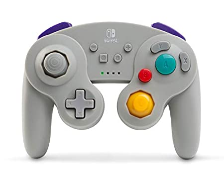 PowerA Wireless Controller for Nintendo Switch - GameCube Style Grey - Nintendo Switch