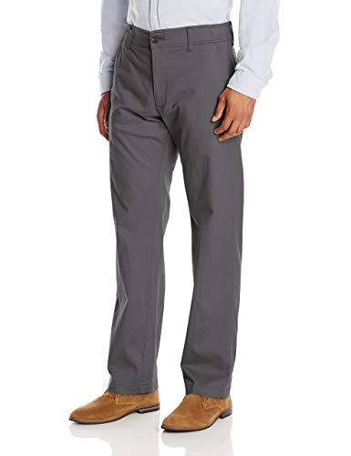 LEE Men's Big & Tall Performance Series Extreme Comfort Pant, Charcoal, 50W x 30L